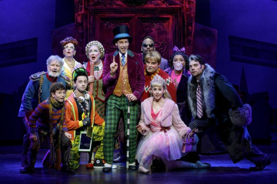 Charlie and the chocolate factory cast