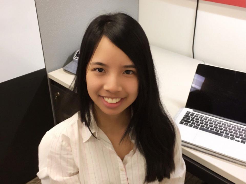 ASU student Chuhong Mai