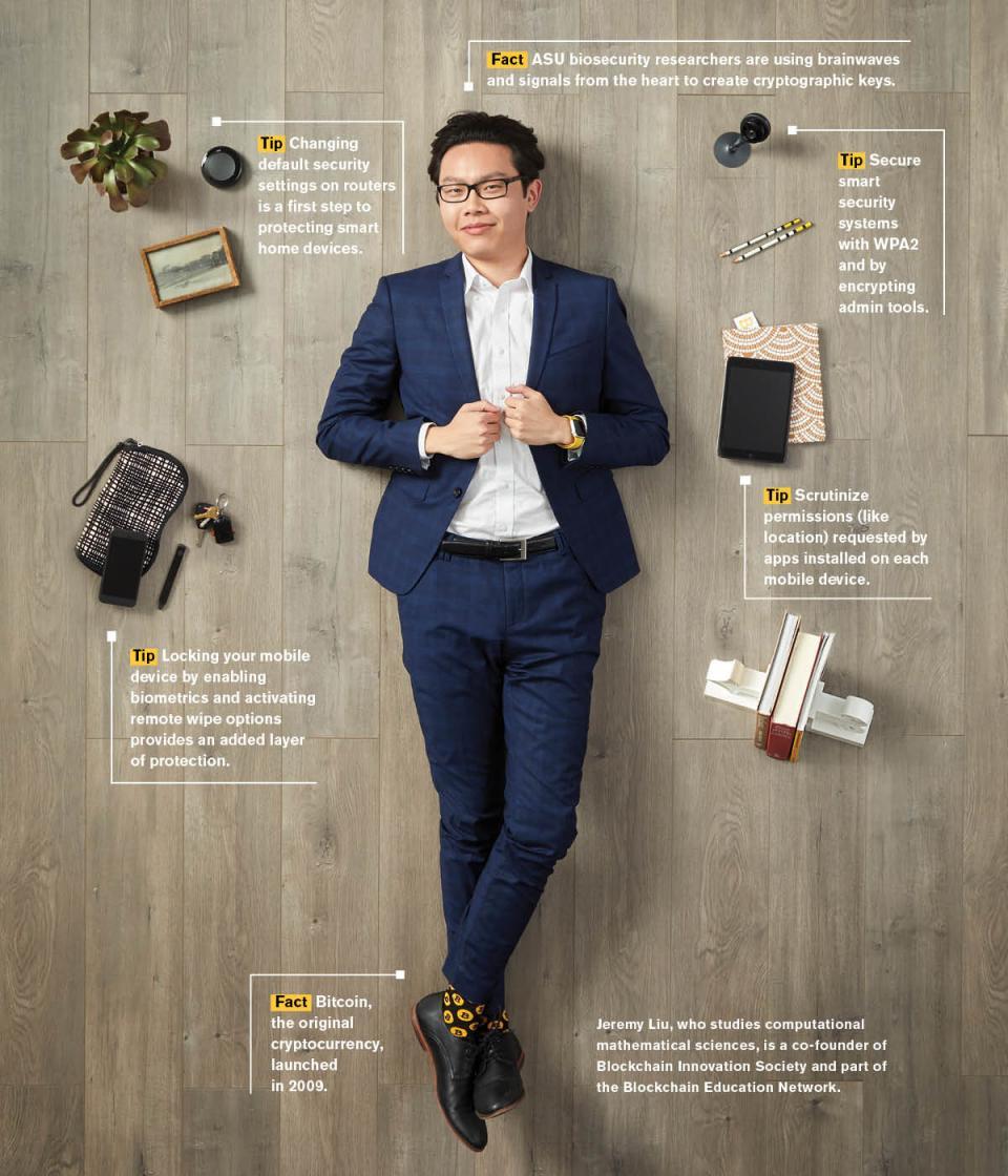 ASU student Jeremy Liu