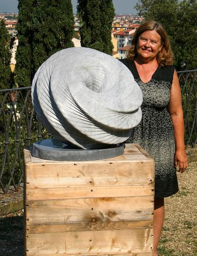 Mary Neubauer in Italy