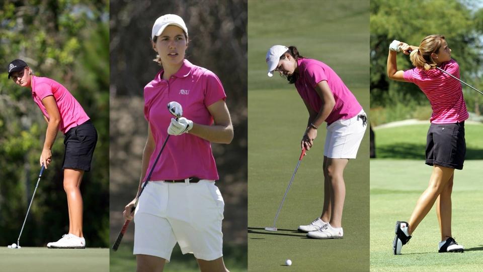 ASU golfers
