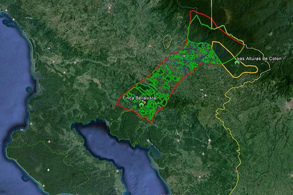 Proposed wildlife corridor
