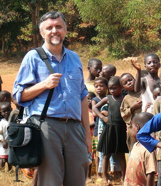 Mark Henderson in Ghana