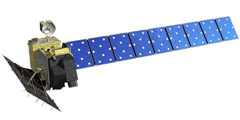 ALOS L-band satellite