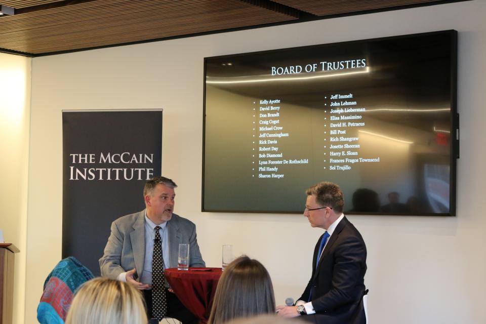 Barrett and OConnor Washington Center discussion