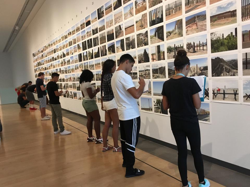 ASU history students explore Phoenix Art Museum