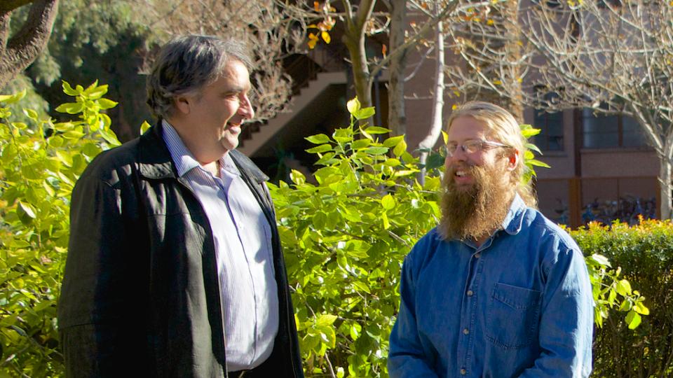 Alex Mahalov (left) and Stephen Shaffer