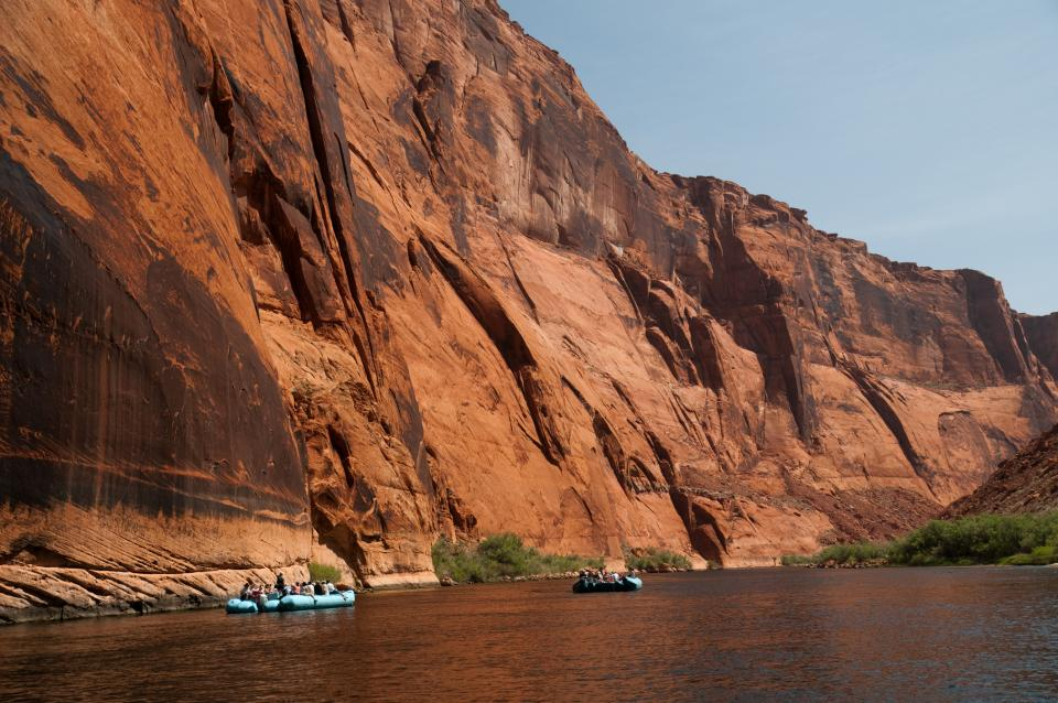 Flatwater rafting Grand Canyon