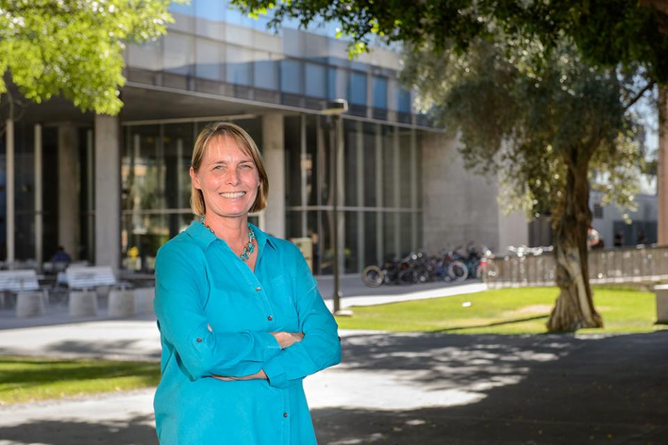 portrait of ASU professor Janet Franklin
