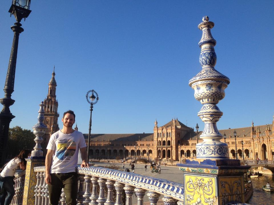 Jaxon Williams in Seville, Spain.