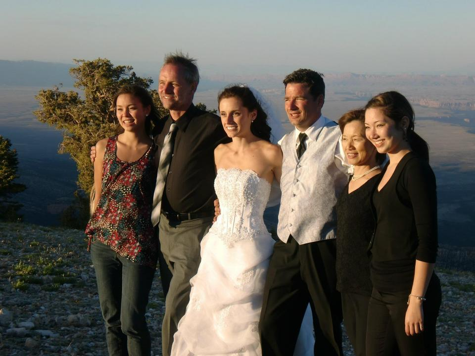 Holycross - Hociota wedding Grand Canyon