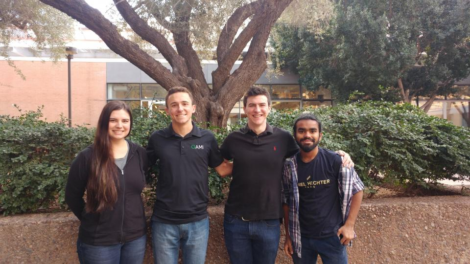 Team of ASU students competing to go to the moon