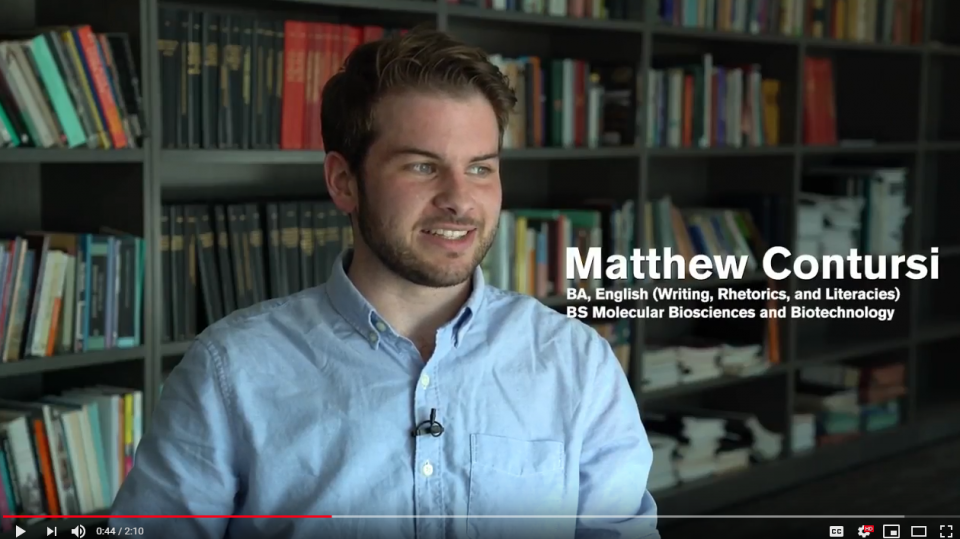 Video: What is Writing, Rhetorics and Literacies at ASU?