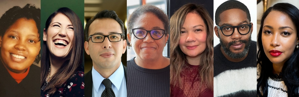 New faculty joining the Department of English at ASU in fall 2021. / Courtesy photos