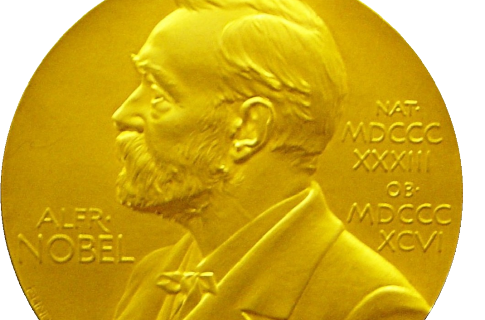 Photo of a Nobel medal by David Monniaux via Wikimedia Commons. Used under CC 3.0.