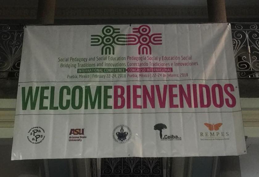 social pedagogy conference banner