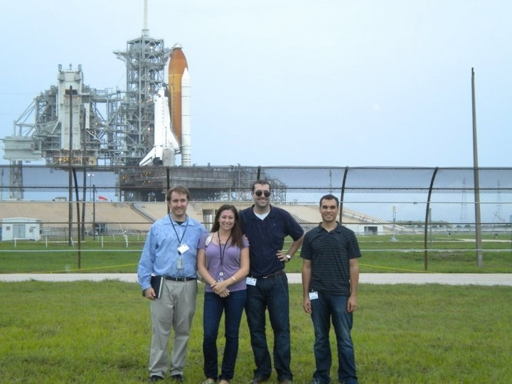 Zachary Pirtle joined his 2010 NASA Presidential Management Fellowship cohort