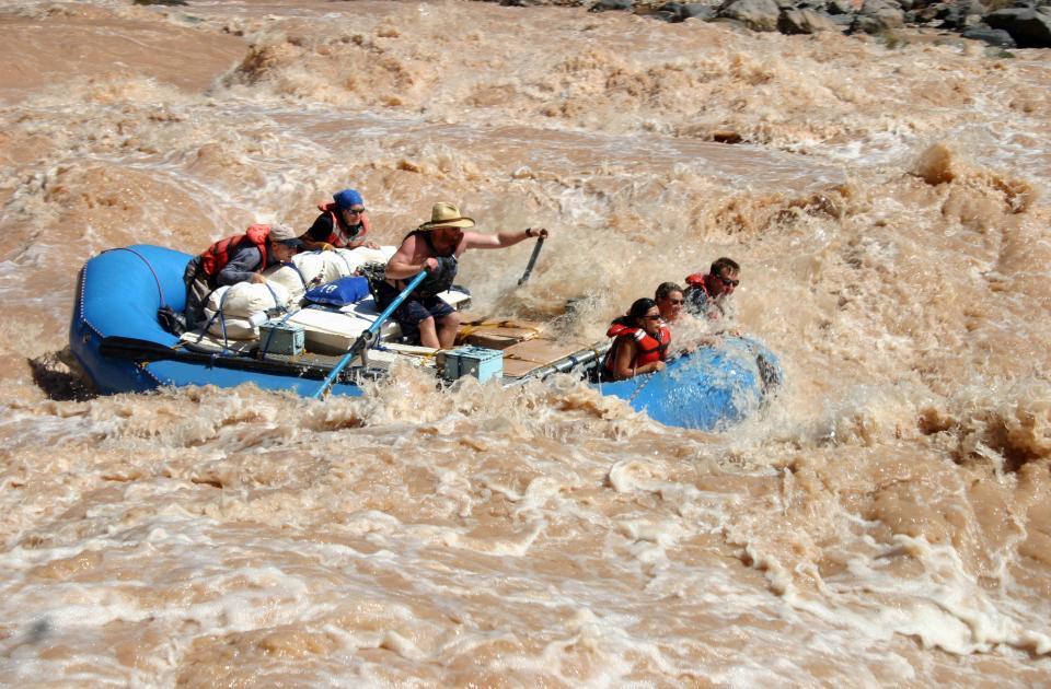Rafting Lava Falls
