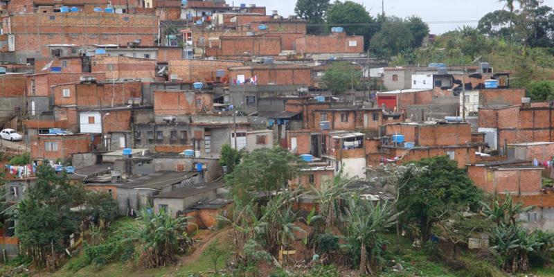 A settlement in Sao Paolo, Brazil