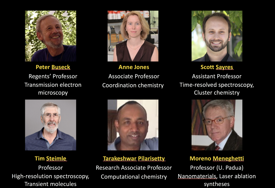 photos of researchers