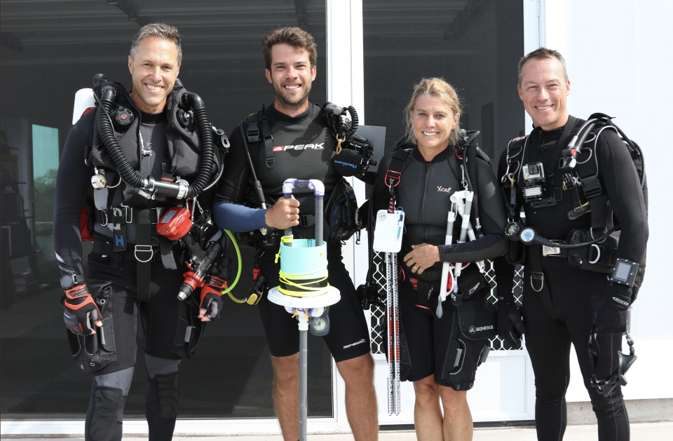 A team of divers from ASU is monitoring the health of coral reefs