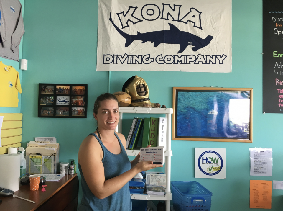 A local dive shop holds ASU tips on how people can help preserve coral reef health