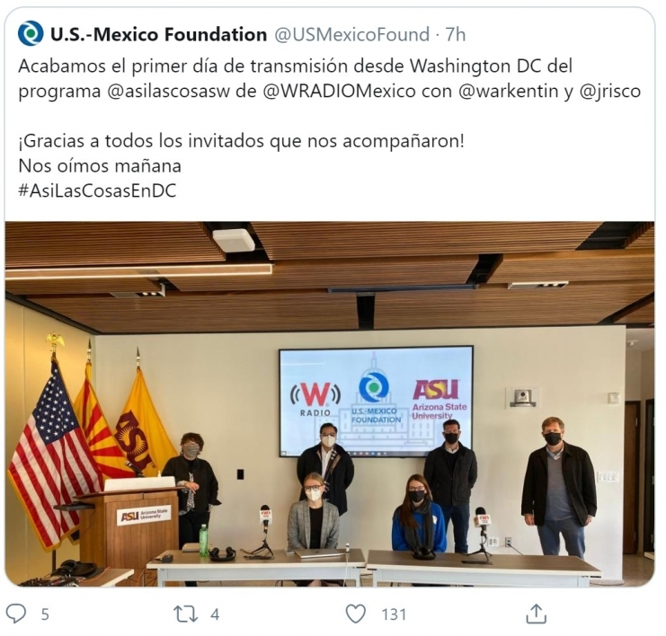 Mexico broadcasters at ASU Barrett & O'Connor Washington Center