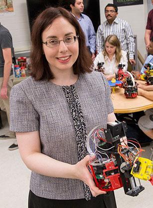 ASU engineer Spring Berman