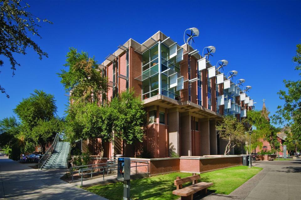 ASU Tempe campus buildings