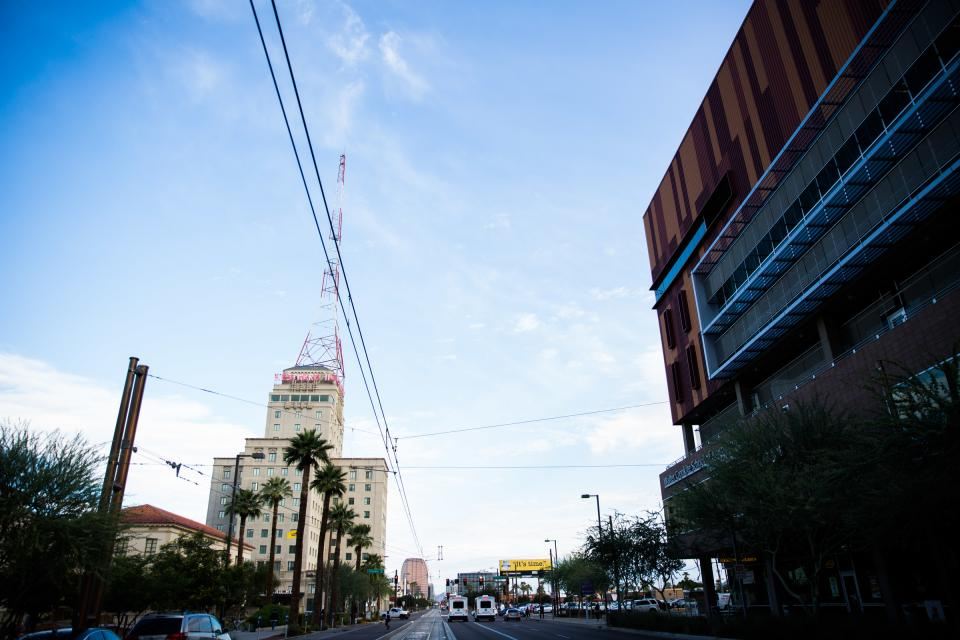 view of Westward Ho in downtown Phoenix