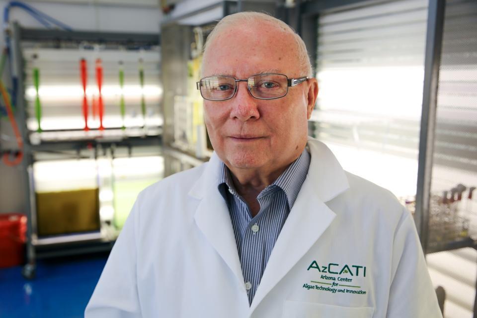 ASU algae expert Milton Sommerfeld