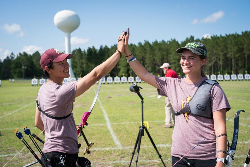 Sun Devil Archery competition