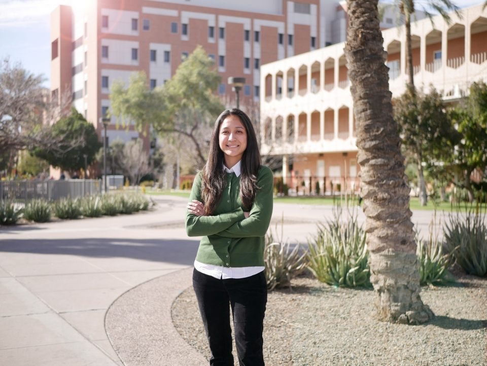 Viridiana Benitez, an assistant professor in The College's Department of Psychology, researches child cognitive development with a focus on language learning.