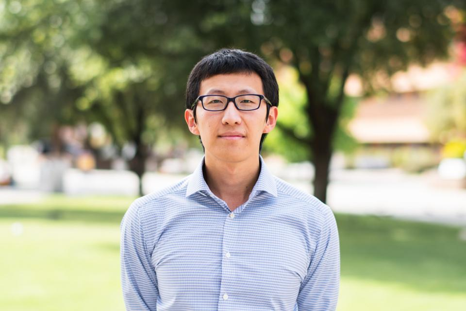 Department of Physics spring 2019 Dean's Medalist Weiqing Xu.