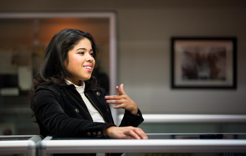 portrait of ASU student Yahaira Jacquez
