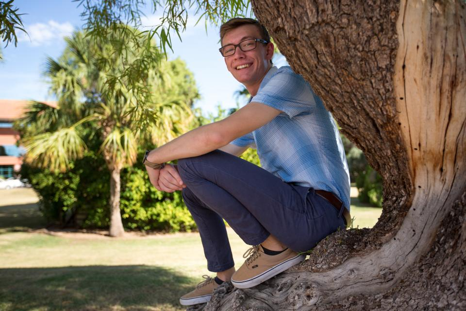 ASU fellow Zachary Porterfield