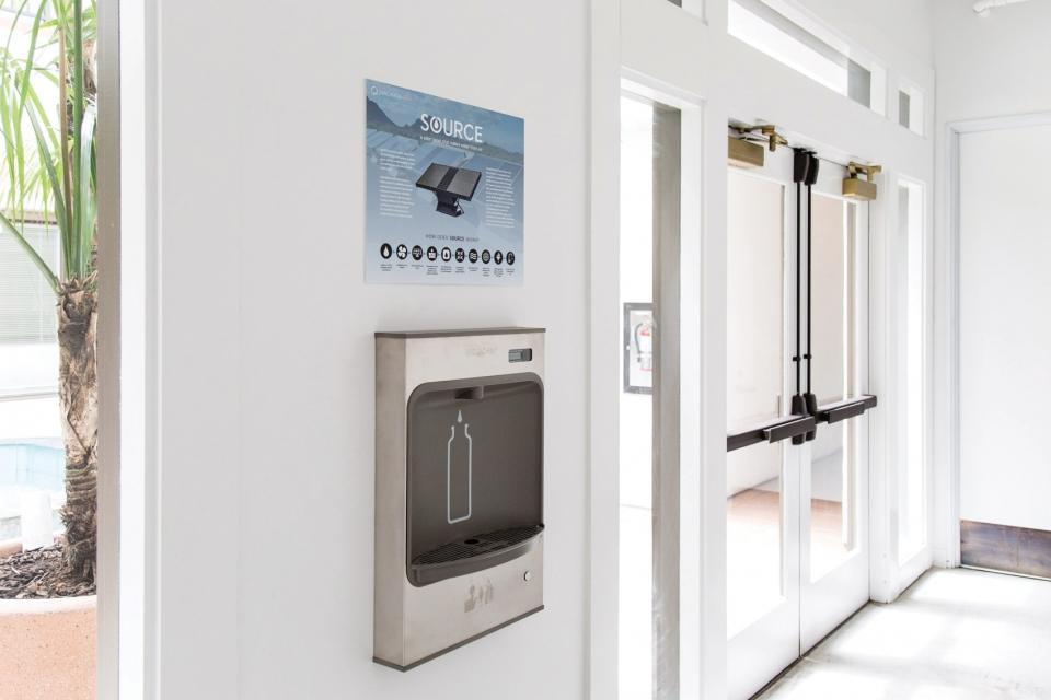 Zero Mass Water dispenser