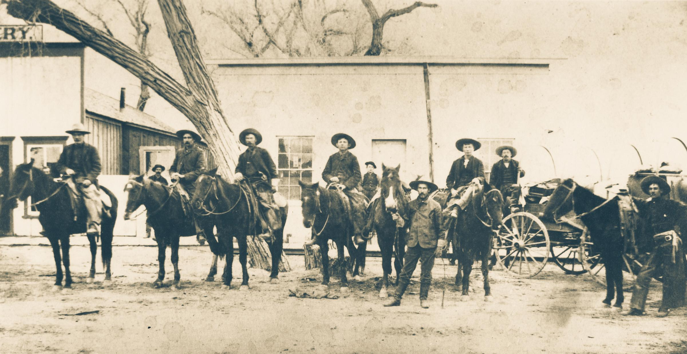 Hashknife cowboys Arizona 1880s