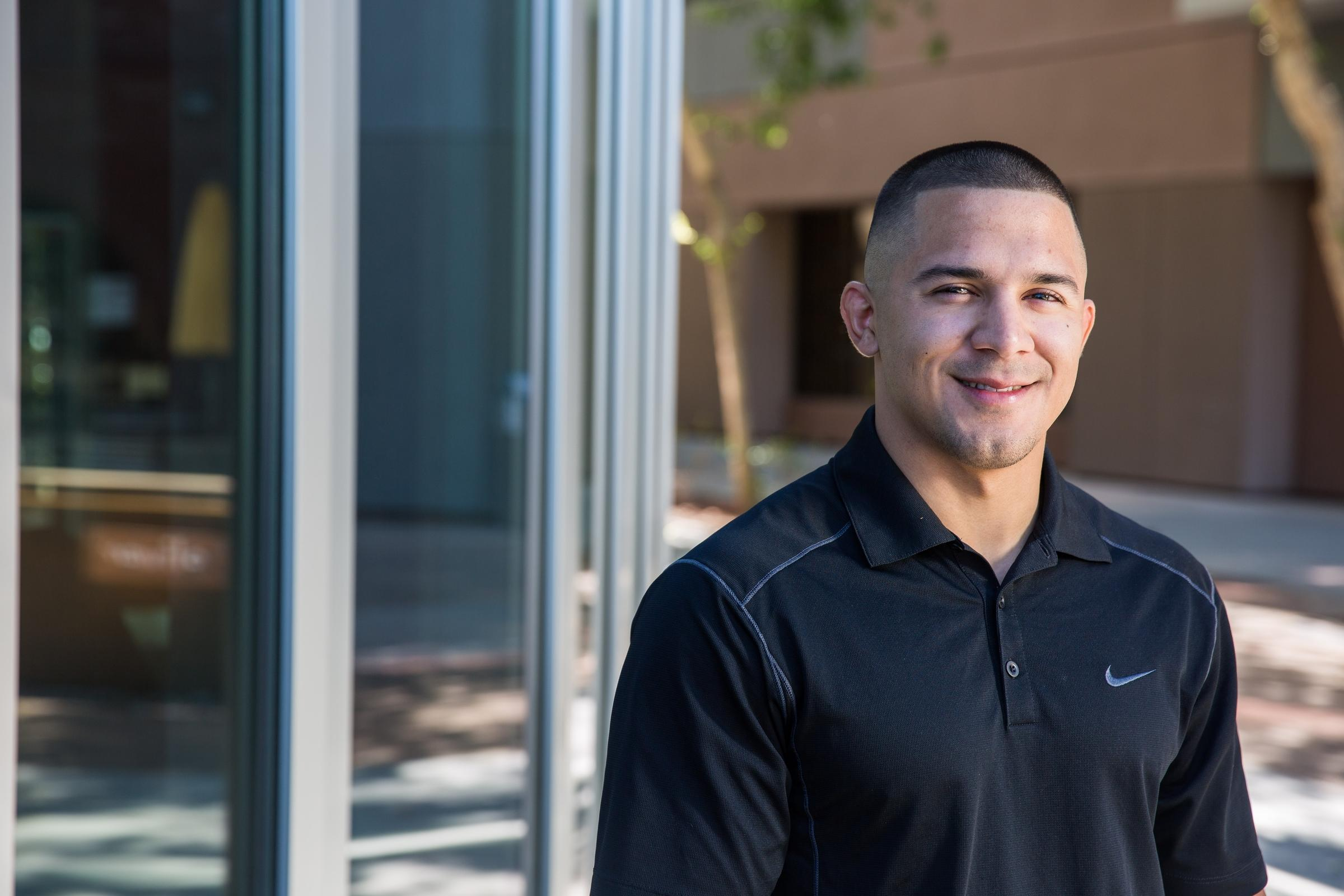 Soon-to-be ASU graduate Andy Meza