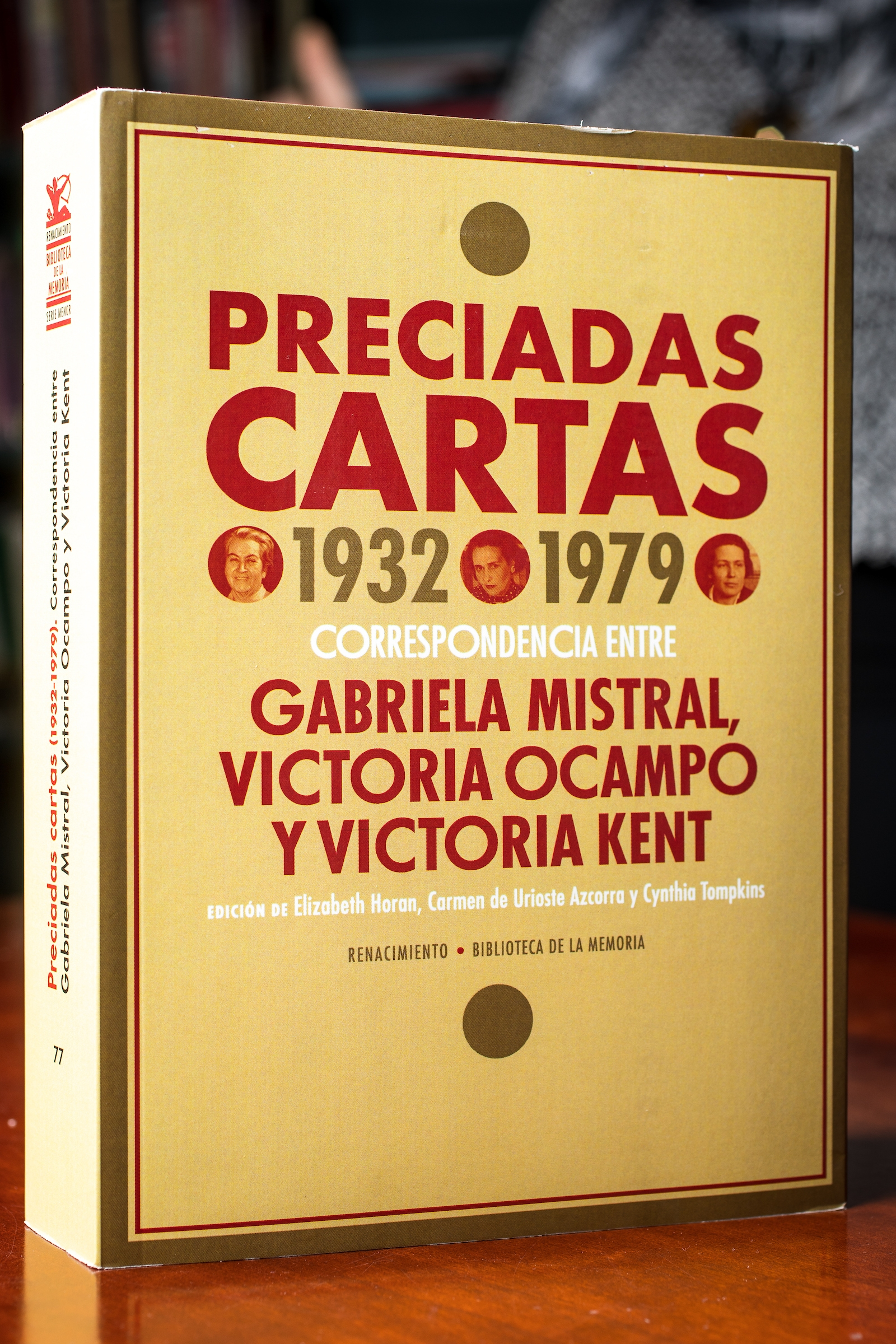"cover of the book ""Preciadas Cartas"""