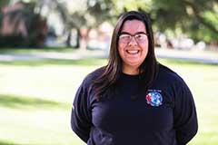 New ASU graduate Angelica Berner