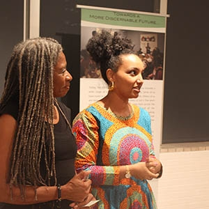 "A photo of , organizers of ""The Great Migration: Indiscernables in Arizona"" exhibit"