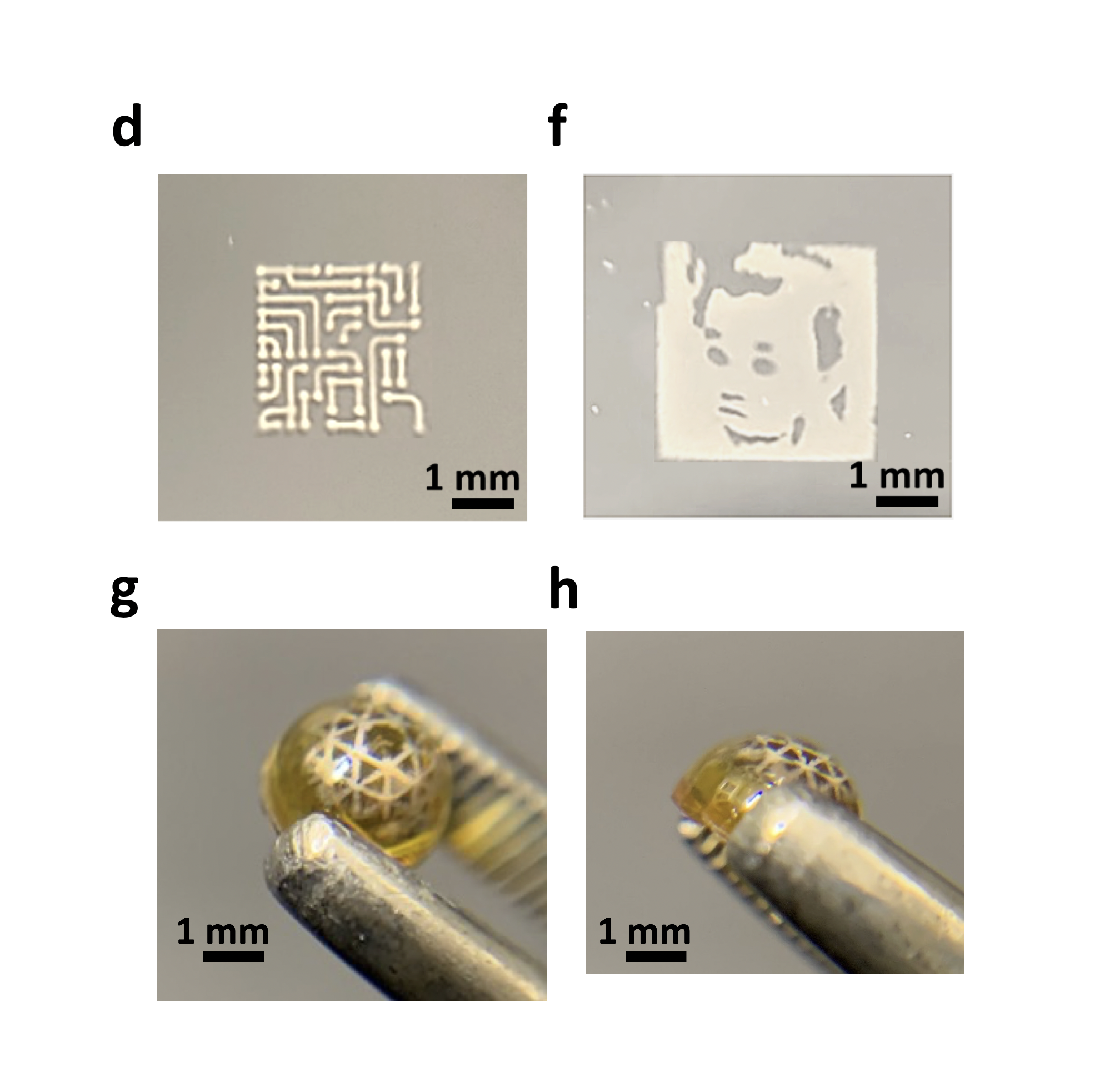 microscope designs with metal
