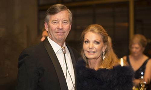photo of Craig Krumwiede and Alison Lewis