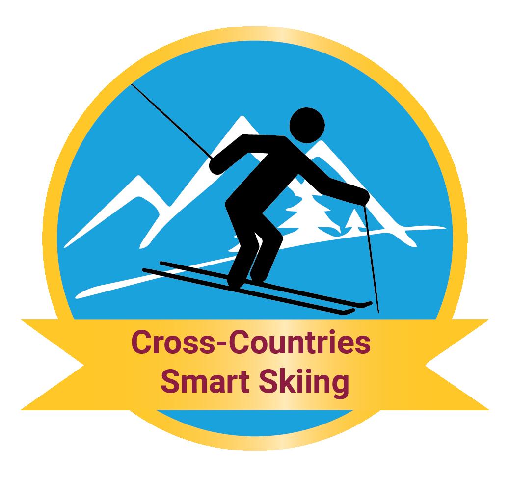 Cross-Countries Smart Skiing Track