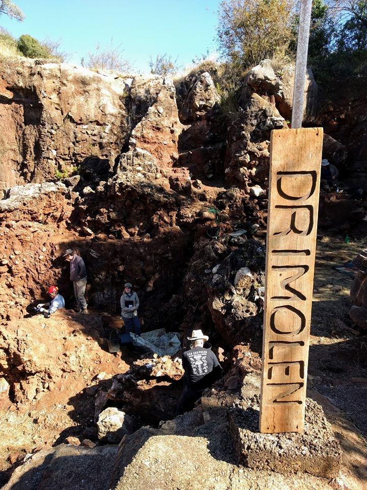 Drimolen excavation site