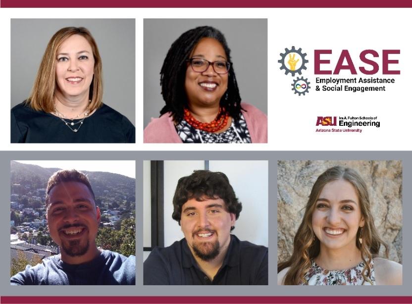 flyer promoting ASU engineering peer mentor program EASE