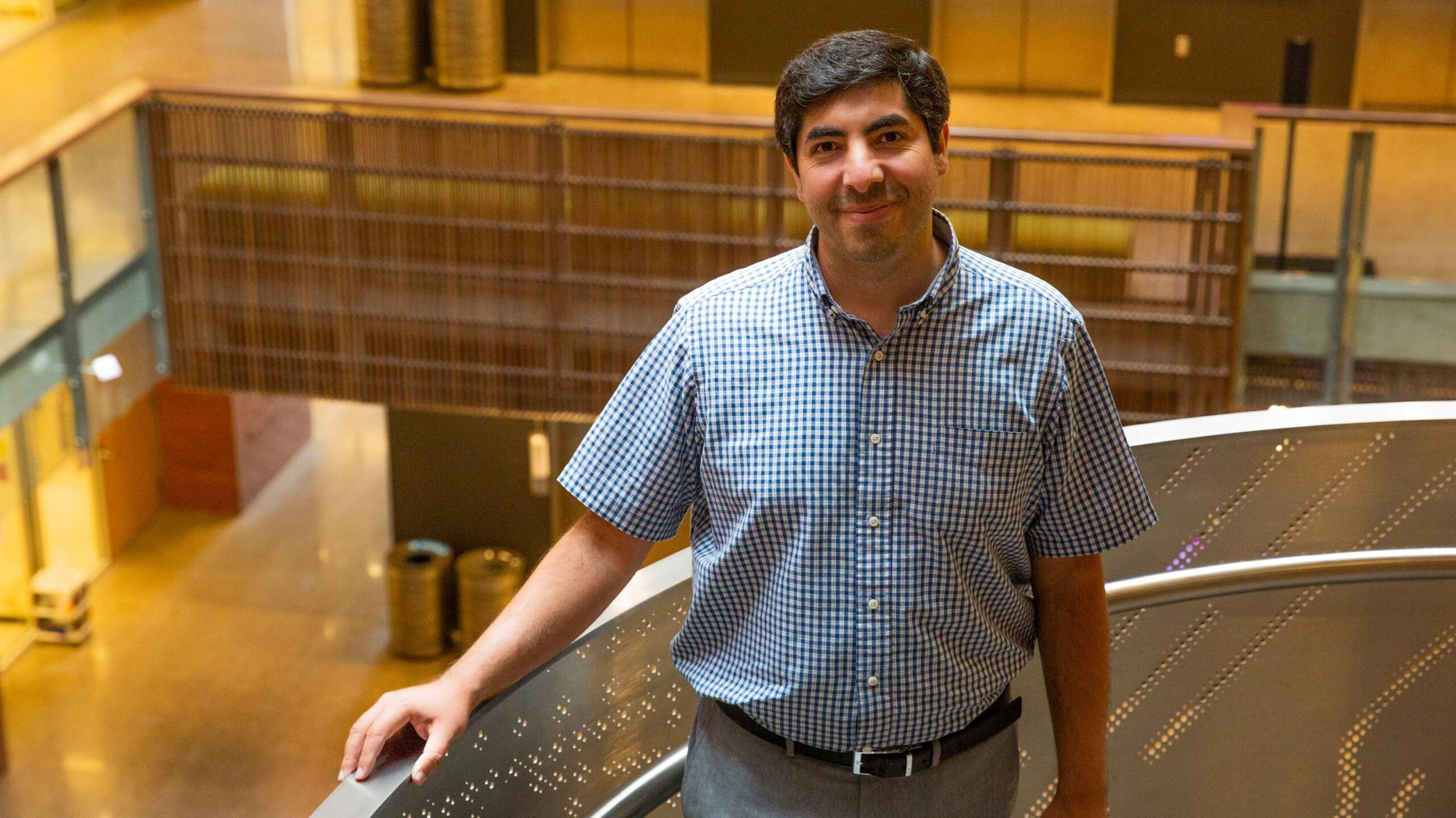 Saeed Zeinolabedinzadeh, an electrical and computer engineer and assistant professor in ASU's Ira A. Fulton Schools of Engineering.