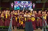 top ASU engineering grads at commencement