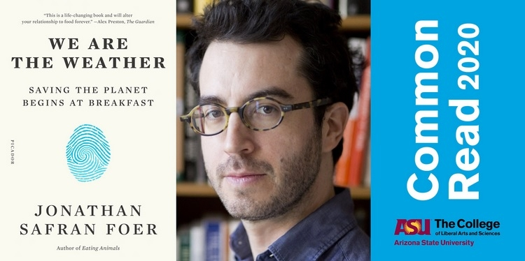 headshot of author Jonathan Safran Foer
